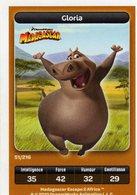 Carte Trading Card Disney Dreamworks Carrefour Madagascar 51 - Disney