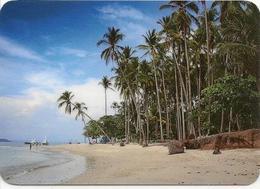 Calendar Russia - 2017 - Travel - Island Tortuga - Palm Trees - Sea - Yachts - Advertising - Calendars