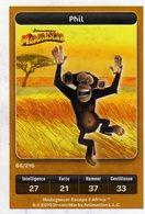 Carte Trading Card Disney Dreamworks Carrefour Madagascar 66 - Disney