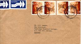 ZIMBABWE. N°198 De 1990 Sur Enveloppe Ayant Circulé. Appuie-tête. - Zimbabwe (1980-...)