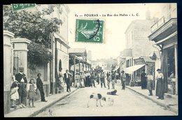 Cpa Du 17  Fouras La Rue Des Halles   YN8 - Fouras-les-Bains
