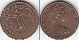 Nuova Zelanda 2 Cents 1982 Km#32.1 - Used - Nouvelle-Zélande