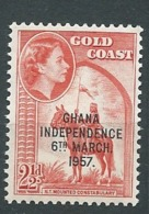 Ghana - Yvert N°   3 B   **   - Ah28811 - Ghana (1957-...)