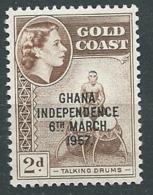 Ghana - Yvert N°   3 A   **   - Ah28812 - Ghana (1957-...)