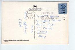 U3553 Postcard 1980 Mary Arden's House, Stratford Upon Avon _ Ed Jarrold KSP249 + NICE TIMBRE - London