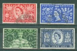 G.B.: 1953   Coronation   Used - 1952-.... (Elizabeth II)