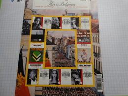 BE 2009.This Is Belgium -livre Et Littérature/boek En Literatuur.obl 31/10/2009 . - Libretti 1962-....