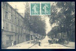 Cpa Du 79 Niort Avenue De Paris     YN8 - Niort