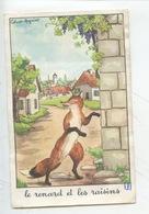 Jean De La Fontaine - Calvet-Rogniat : Le Renard Et Les Raisins (éd éducatives Série D 14X9) - Fairy Tales, Popular Stories & Legends