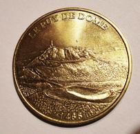 LE PUY DE DOME 1998. JETON TOURISTIQUE. MDP. MONNAIE DE PARIS. - Monnaie De Paris