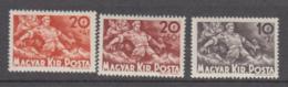 Hungary 1940 - Michel 629-631 MNH ** - Hungría