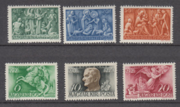 Hungary 1940s - 2 MNH Series ** - Hungría