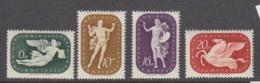 Hungary 1940 - 643-646 Mint Hinged * - Hungría