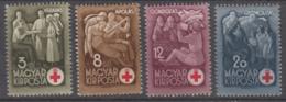 Hungary 1942 - 691-694 Mint Hinged * - Hungría