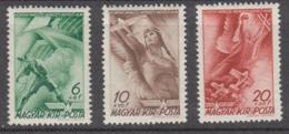 Hungary 1940 - 623-625 Mint Hinged * - Hungría