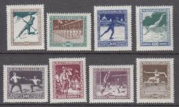 Hungary 1925 - 403-410 Mint Hinged * - Nuevos