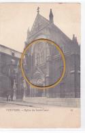 """VERVIERS  """" Eglise Du Sacré-Coeur  -rue De Rome (démolie)    """" écrite En 1907   Rare  Voir Scans - Verviers"""