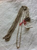 Chaine Argent,silver,longueur : 50 Cm - Halsketten