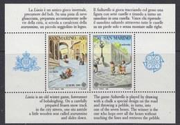 Europa Cept 1989 San Marino M/s  ** Mnh (41272) - 1989