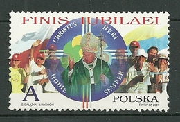 POLAND MNH ** 3646 Pape JEAN PAUL II Année Sainte - 1944-.... Republik