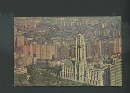 CPSM - USA - NEW YORK - THE RIVERSIDE CHURCH AND GRANT'S TOMB - Multi-vues, Vues Panoramiques