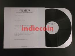 33T BIFF BANG POW ! Me 1991 UK LP Test Pressing Alan McGee Creation Records - Rock