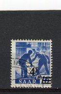 SARRE - Y&T N° 221° - Gebraucht