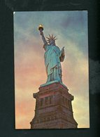 CPSM - USA - NEW YORK - STATUE OF LIBERTY - Statue De La Liberté