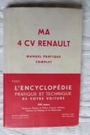 Ma 4 Cv Edition Luxe 1950 - Cars