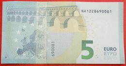 # NEW EUROPE Russian TYPE: AUSTRIA ★ 5 EURO 2014 PREFIX NA N014B1! UNC CRISP!!! LOW START ★ NO RESERVE! - 5 Euro