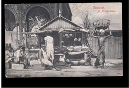 INDIA  Calcutta A Native Shop Ca 1910 OLD POSTCARD 2 Scans - Indien