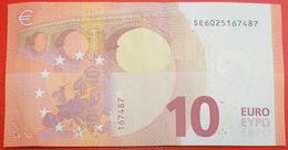 + NEW EUROPE Russian TYPE: ITALY ★ 10 EURO 2014 PREFIX SE S002F2! UNC CRISP!!! LOW START ★ NO RESERVE! - EURO
