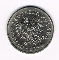 &  POLEN  50 ZLOTYCH  1990 - Pologne