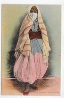 (RECTO / VERSO) MAURESQUE EN 1906- N° 88 Bis - COSTUME DE VILLE - SUPERBE CPA VOYAGEE - Algeria