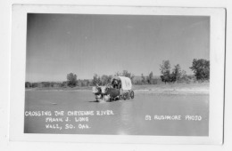 CROSSING THE CHEYENNE RIVER  Photo Card - United States