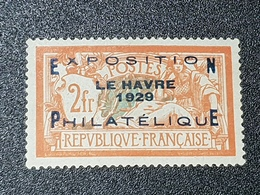 N° 257A Neuf * Gomme D'Origine Avec Bon Centrage  TB - Francia