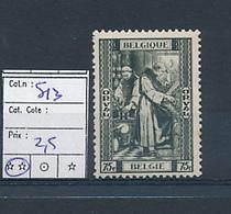 BELGIUM  COB 513 MNH - Belgium