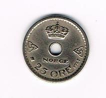 &  NOORWEGEN  25  ORE 1927 - Norvège