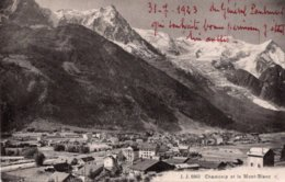 CPA   74   CHAMONIX ET LE MONT BLANC - Chamonix-Mont-Blanc