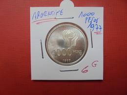 ARGENTINE 1000 PESOS 1977 ARGENT - Argentina