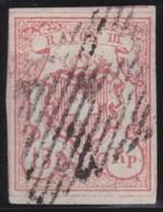 Schweiz    .     Yvert   23   Grand  Chiffre  ( 2 Scans )     .      O       .      Gebraucht   .   /      Oblitéré - 1843-1852 Kantonalmarken Und Bundesmarken