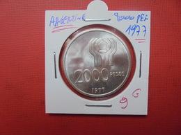 ARGENTINE 2000 PESOS 1977 ARGENT - Argentina