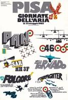 PISA GIORNATE DELL' ARIA MAGGIO 1983 NON VIAGGIATA - Manifestazioni