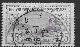 1917 USED France - Frankreich