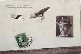 37  AB CPA Morane Sur Monoplan Blériot - Aviateurs