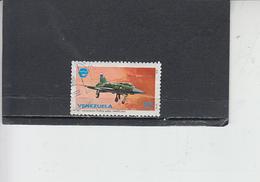 VENEZUELA  1979 - Yvert  1064° - Aviazione - Venezuela