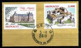 MONACO . Série Anciens Fiefs Du 2eme Semestre 2018 Oblitérée   (2695) - Monaco