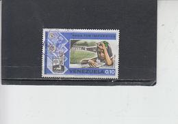 VENEZUELA  1975 - Yvert  908 - Imposte - Venezuela