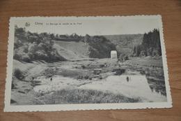 5884- CHINY LE BARRAGE DU MOULIN VU DU PONT - Chiny