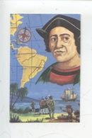 Christophe Colomb Navigateur - Dangé - Les Ormes - Saint Romain Laiterie Coopérative  (n°4) Création M. Cheminade - Chromo